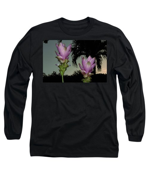 Curcuma Hybrid Flowers Long Sleeve T-Shirt