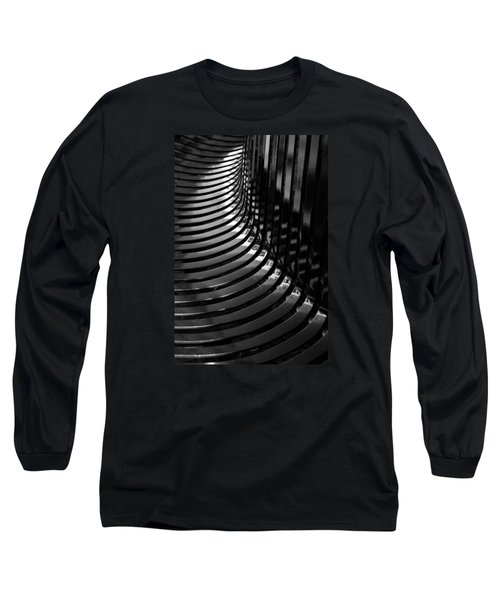 Curved Long Sleeve T-Shirt