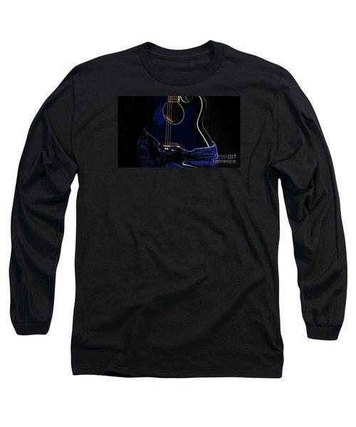 Long Sleeve T-Shirt featuring the photograph Curves by Randi Grace Nilsberg