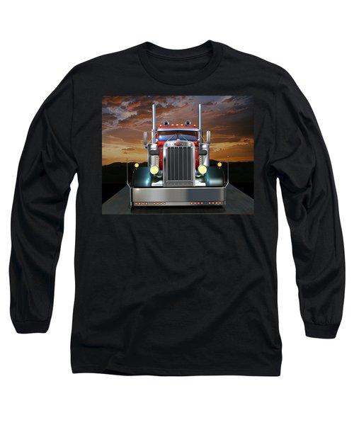 Custom Peterbilt Long Sleeve T-Shirt