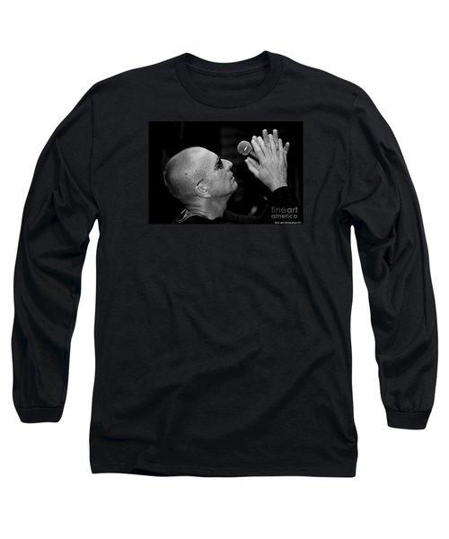 Cy Curnin The Fixx By Diana Sainz Long Sleeve T-Shirt