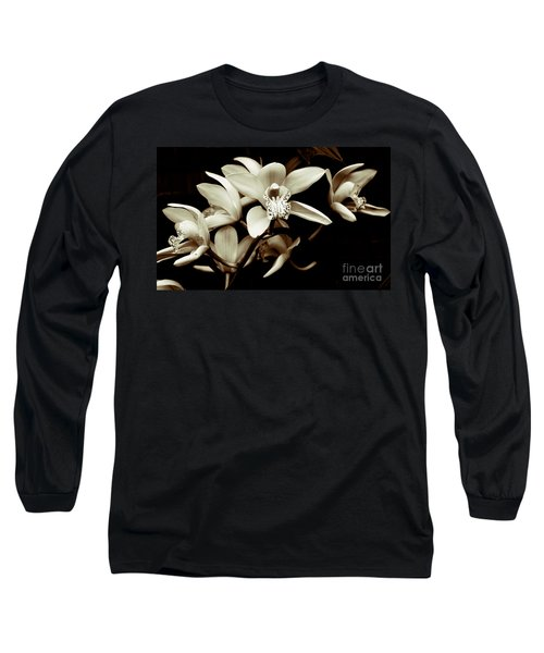 Cymbidium Orchids Long Sleeve T-Shirt
