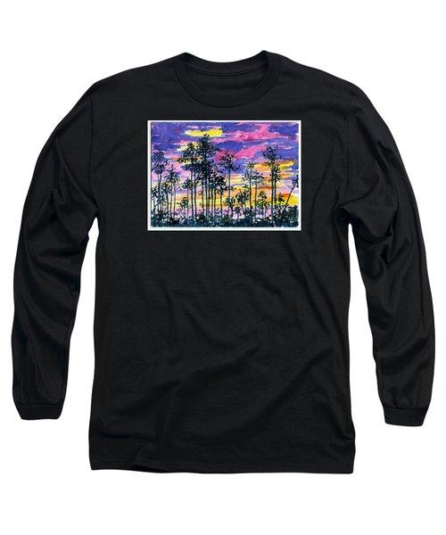 Cypress Sunset Long Sleeve T-Shirt