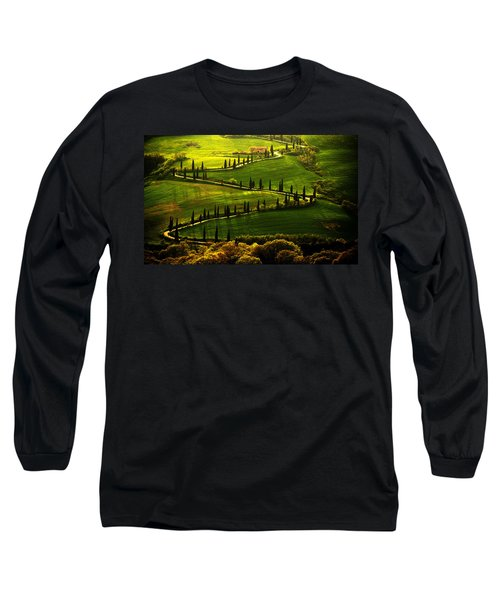 Cypresses Alley Long Sleeve T-Shirt