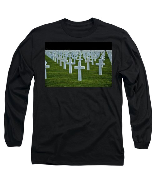 D-day's Price Long Sleeve T-Shirt by Eric Tressler