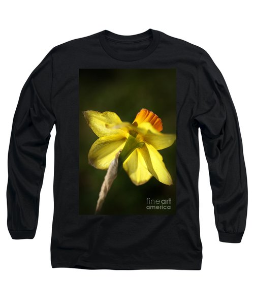 Long Sleeve T-Shirt featuring the photograph Daffodils Grace by Joy Watson