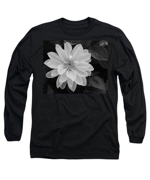 Dahlia Long Sleeve T-Shirt by Ellen Henneke
