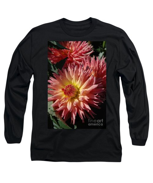 Long Sleeve T-Shirt featuring the photograph Dahlia Viii by Christiane Hellner-OBrien