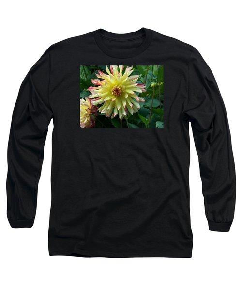 Dahlia Vo Vo Gal Long Sleeve T-Shirt by Catherine Gagne