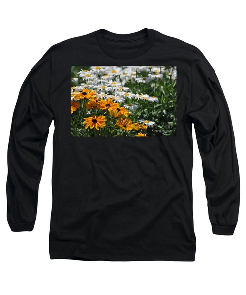 Daisy Fields Long Sleeve T-Shirt by Bianca Nadeau