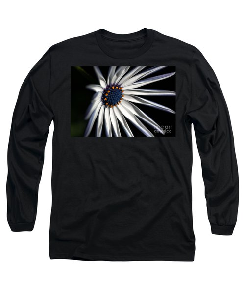 Long Sleeve T-Shirt featuring the photograph Daisy Heart by Joy Watson