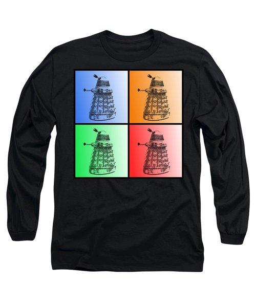 Dalek Pop Art Long Sleeve T-Shirt