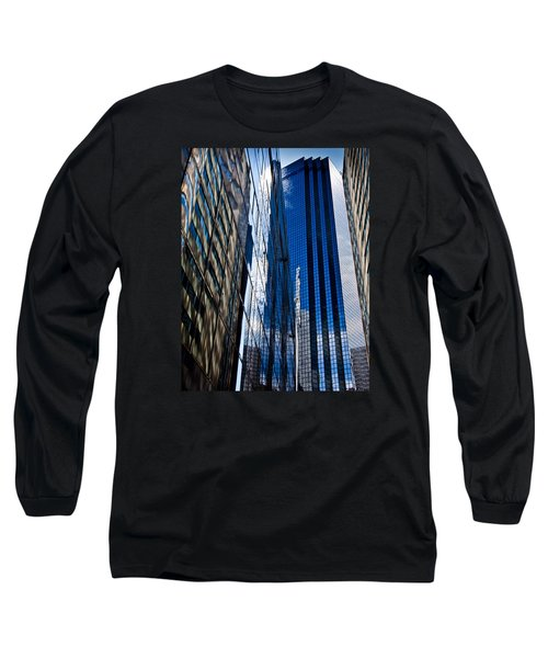 Dallas Reflections Long Sleeve T-Shirt by Mark Alder