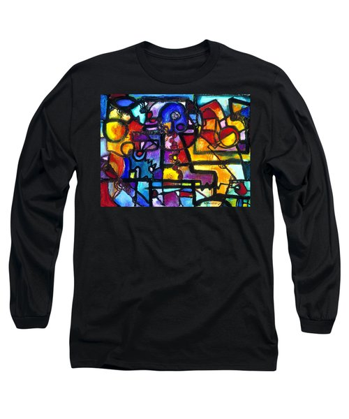 Dance Of The Gauge Bosons In Vacuum Long Sleeve T-Shirt