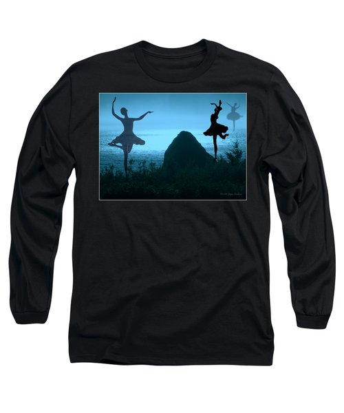 Long Sleeve T-Shirt featuring the photograph Dance Of The Sea by Joyce Dickens