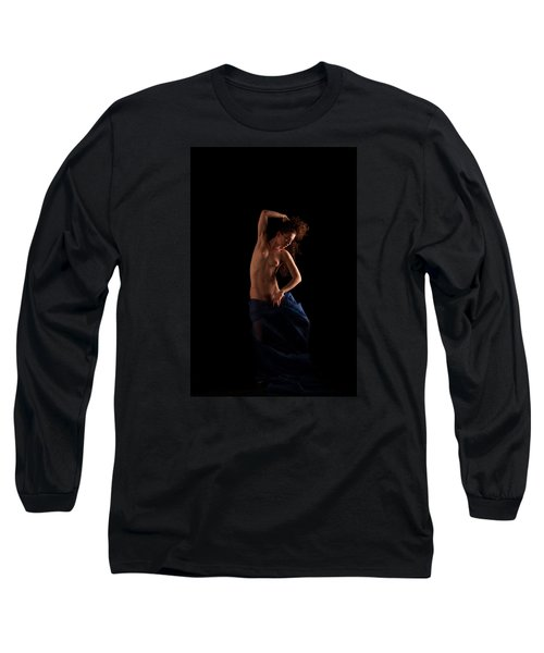 Long Sleeve T-Shirt featuring the photograph Dance With The Devil by Mez