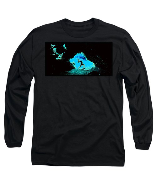 Dancer On The Edge Of Time Long Sleeve T-Shirt by Susanne Still