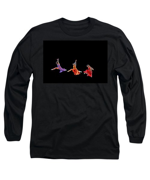 Dancers In Flight Long Sleeve T-Shirt