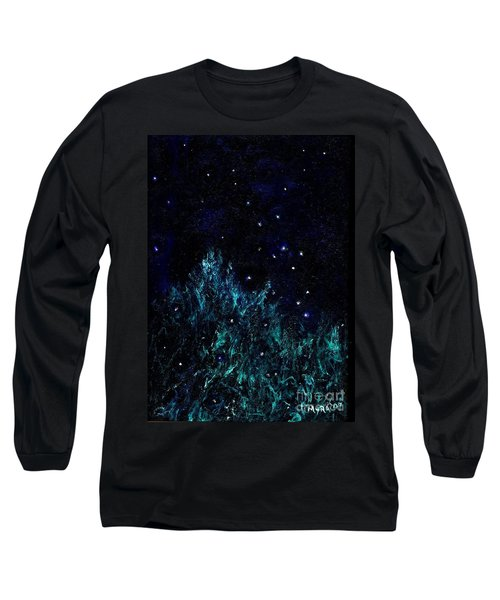 Dancing Fireflies Long Sleeve T-Shirt