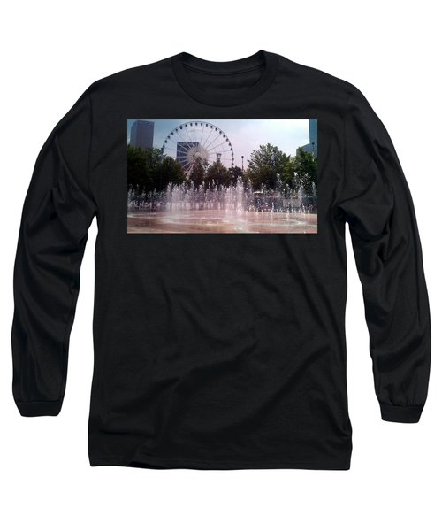 Dancing Fountains Long Sleeve T-Shirt