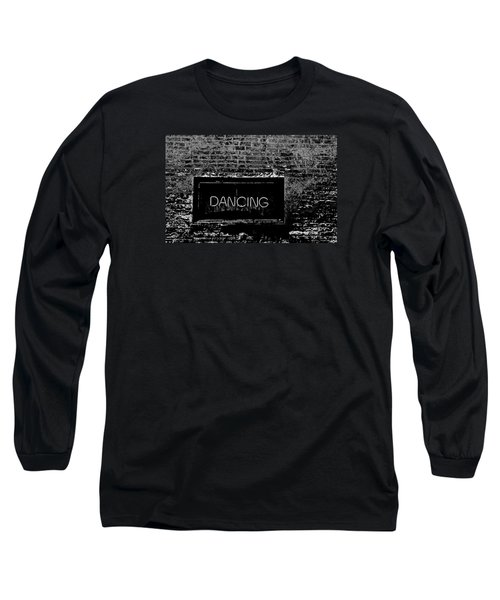 Long Sleeve T-Shirt featuring the photograph Dancing by Michael Nowotny