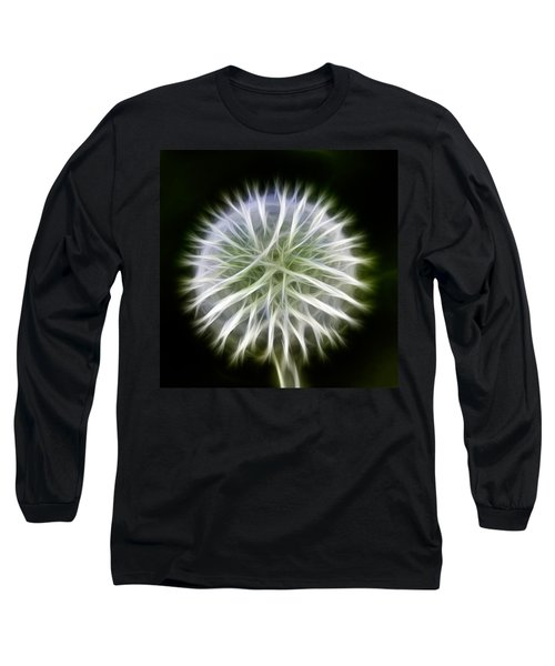 Dandelion Abstract Long Sleeve T-Shirt