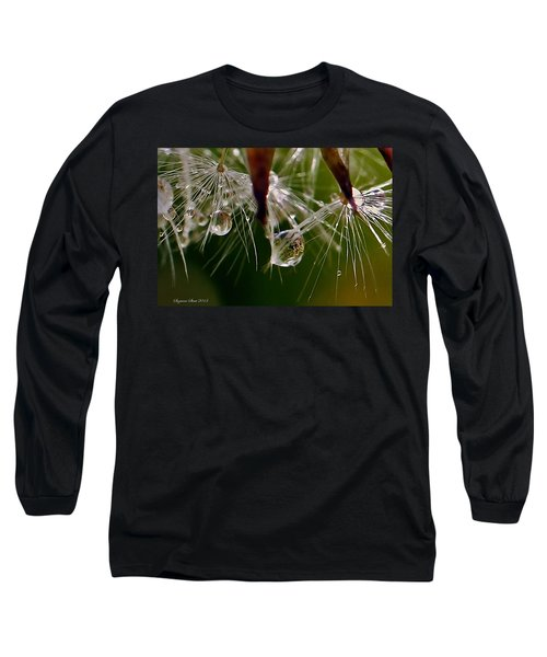 Dandelion Droplets Long Sleeve T-Shirt