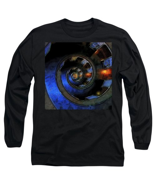 Dark Hallway Down Long Sleeve T-Shirt