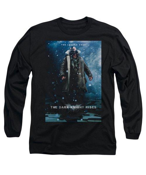 Dark Knight Rises - Bane Poster Long Sleeve T-Shirt