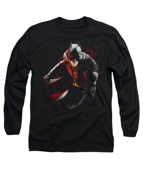Dark Knight Rises - Ready To Punch Long Sleeve T-Shirt