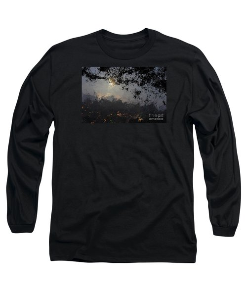 Dark Rain Long Sleeve T-Shirt by The Art of Alice Terrill