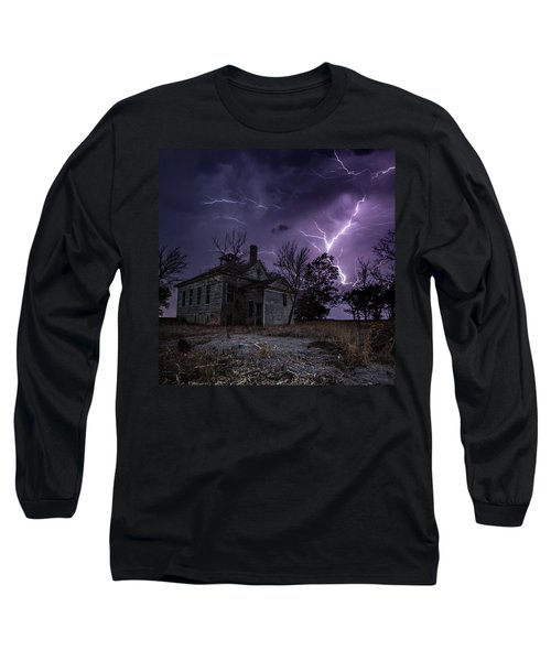 Dark Stormy Place Long Sleeve T-Shirt