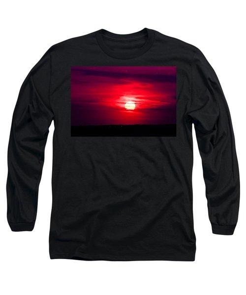 Dark Sunset Long Sleeve T-Shirt
