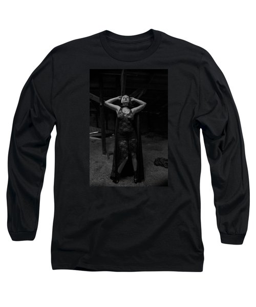 Long Sleeve T-Shirt featuring the photograph Dark Witch's Yearning by Mez