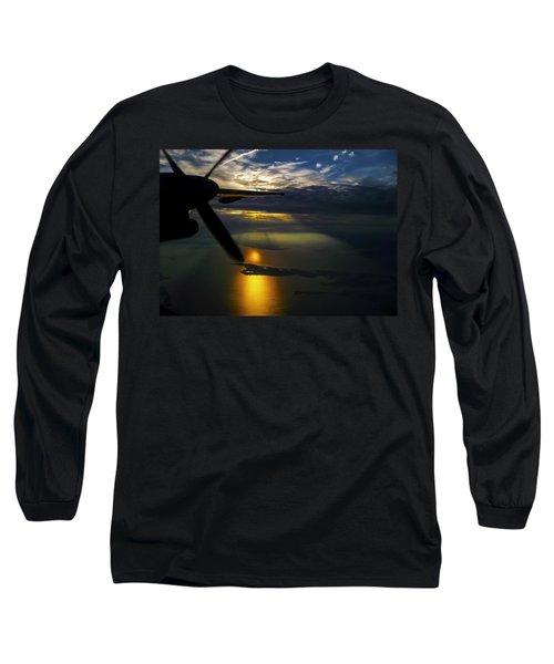 Dash Of Sunset Long Sleeve T-Shirt