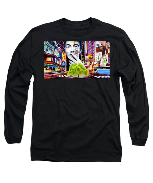 Dave Matthews Dreaming Tree Long Sleeve T-Shirt by Joshua Morton