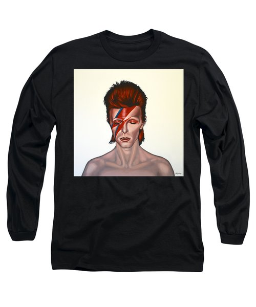 David Bowie Aladdin Sane Long Sleeve T-Shirt