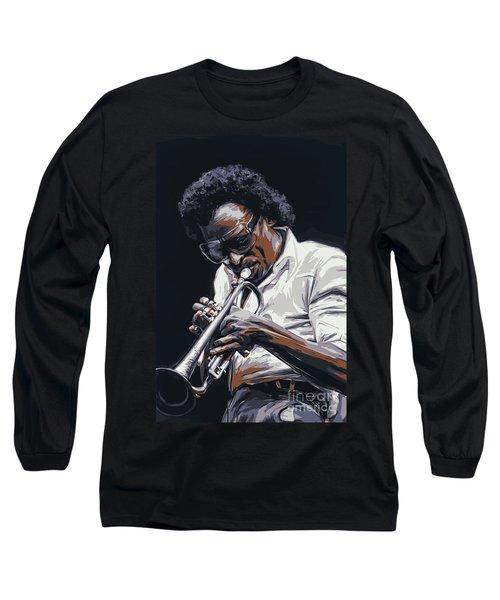 Davis Long Sleeve T-Shirt by Andrzej Szczerski