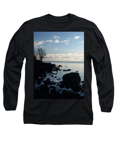 Long Sleeve T-Shirt featuring the photograph Dawn At The Cove by James Peterson