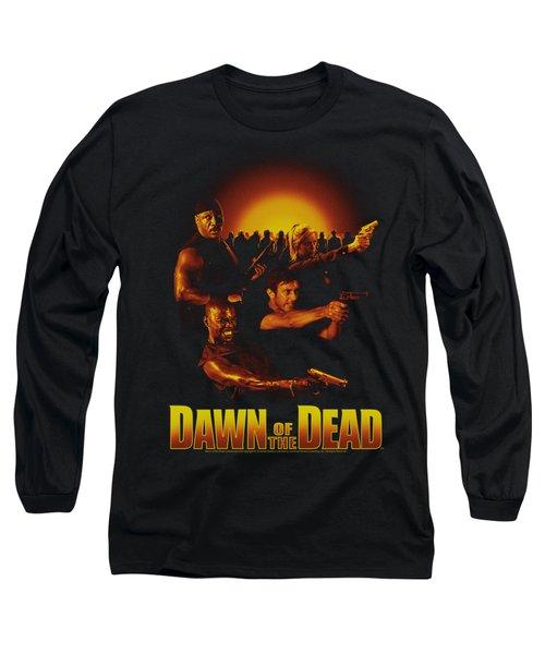 Dawn Of The Dead - Dawn Collage Long Sleeve T-Shirt