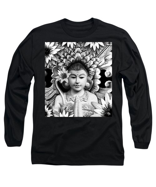Dawning Of The Goddess Long Sleeve T-Shirt by Christopher Beikmann