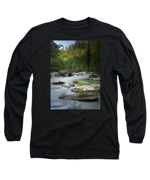 Long Sleeve T-Shirt featuring the photograph Daybreak In The Valley by Andy Crawford