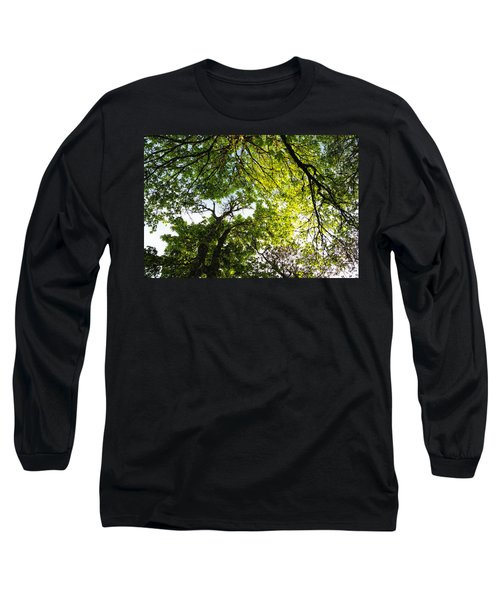 Daydreaming In The Hammock Long Sleeve T-Shirt by Belinda Greb