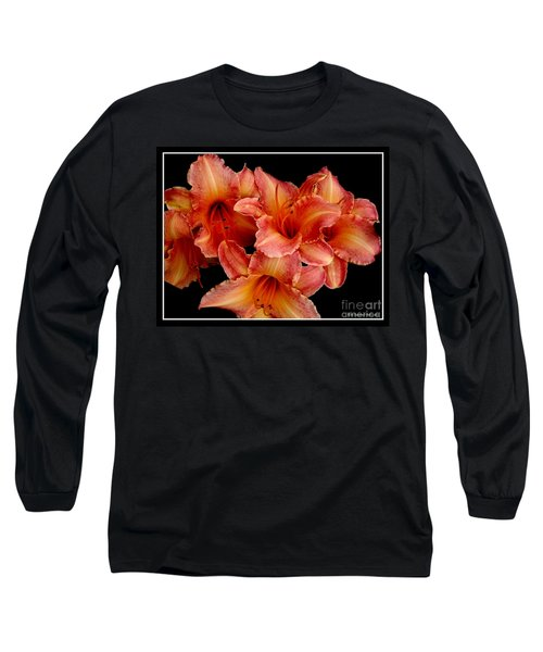 Long Sleeve T-Shirt featuring the photograph Daylilies 1 by Rose Santuci-Sofranko