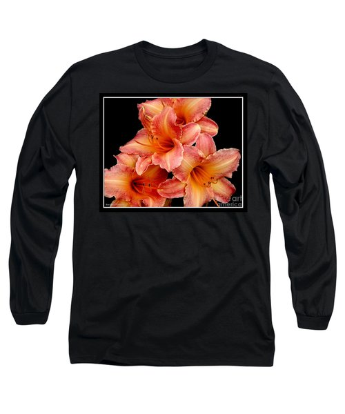 Long Sleeve T-Shirt featuring the photograph Daylilies 2 by Rose Santuci-Sofranko