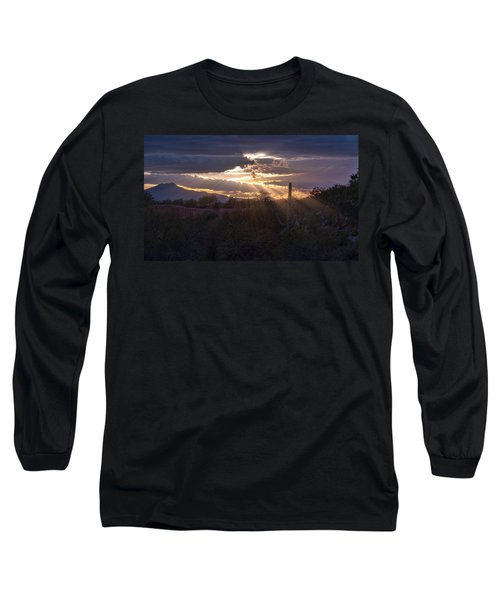 Long Sleeve T-Shirt featuring the photograph Days End by Dan McManus