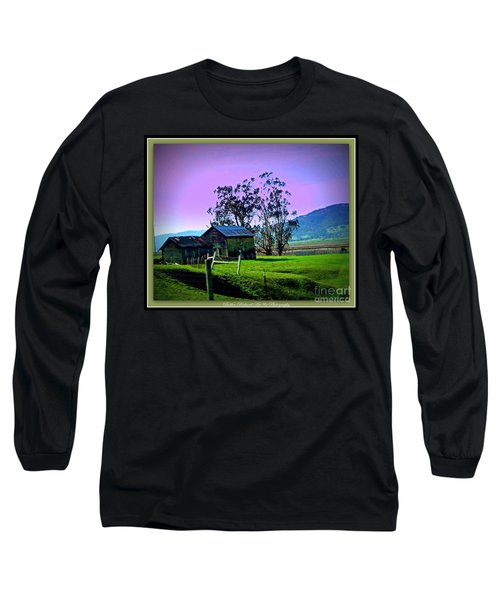 Long Sleeve T-Shirt featuring the photograph Days Gone By by Bobbee Rickard