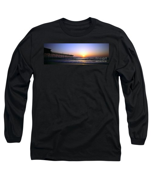 Daytona Sun Glow Pier  Long Sleeve T-Shirt