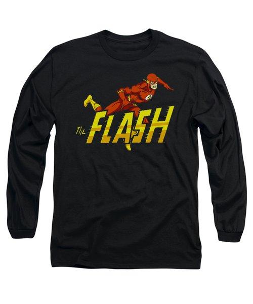 Dc - 8 Bit Flash Long Sleeve T-Shirt