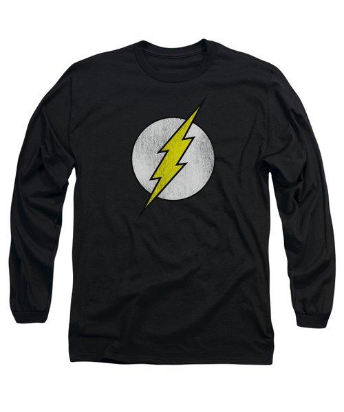 Dco - Flash Logo Distressed Long Sleeve T-Shirt
